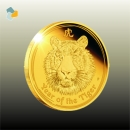 Austr. Lunar II Tiger 1/2 oz Gold (2010)