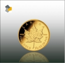 Maple Leaf 1/10 oz Gold