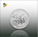 Maple Leaf - Wildlife 2012 Elch 1oz Silber - Differenzbesteuert nach § 25 a UStG