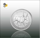 Maple Leaf - Wildlife 2013 Antilope 1oz Silber - Differenzbesteuert nach § 25 a UStG