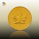 Maple Leaf 1/4 oz Gold